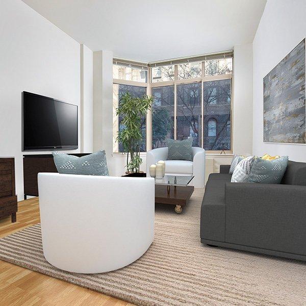 Monterey at Lex Apartment Living Room