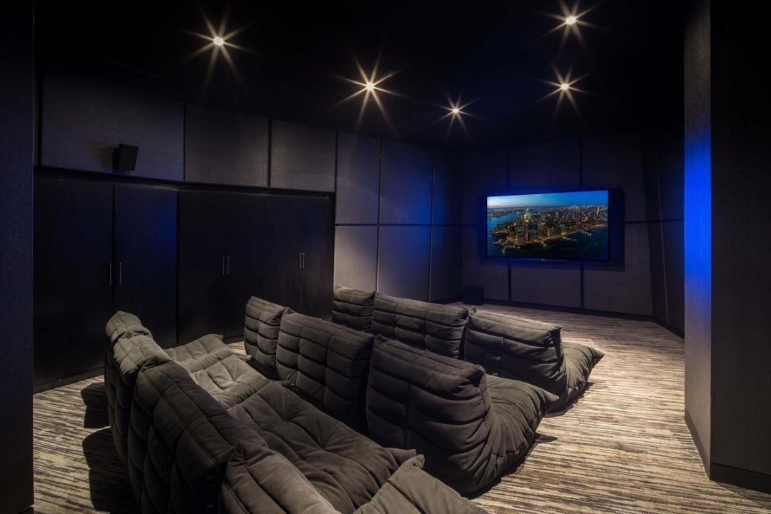 Movie Room at 400 Park Avenue South