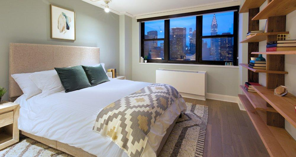 Apartments for rent at Murray Hill Marquis - Bedroom