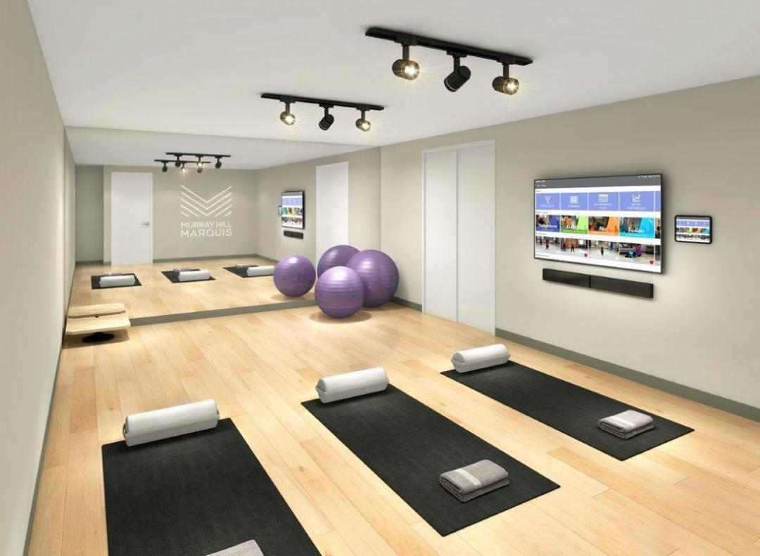Apartments for rent at Murray Hill Marquis - Yoga Studio