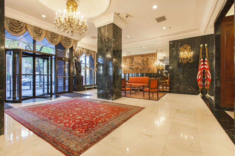 Lobby at 330 East 39th Street in Murray Hill - Apartments for rent