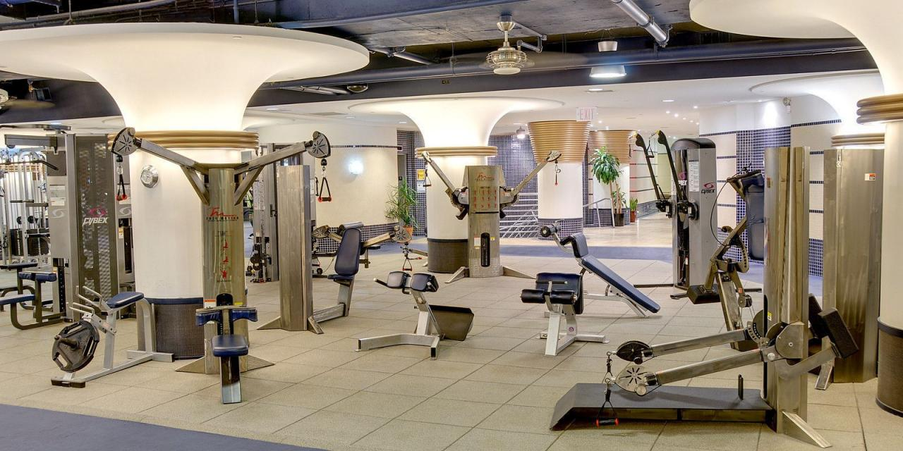 Apartments for rent 2 Water Street in NYC - Fitness Center