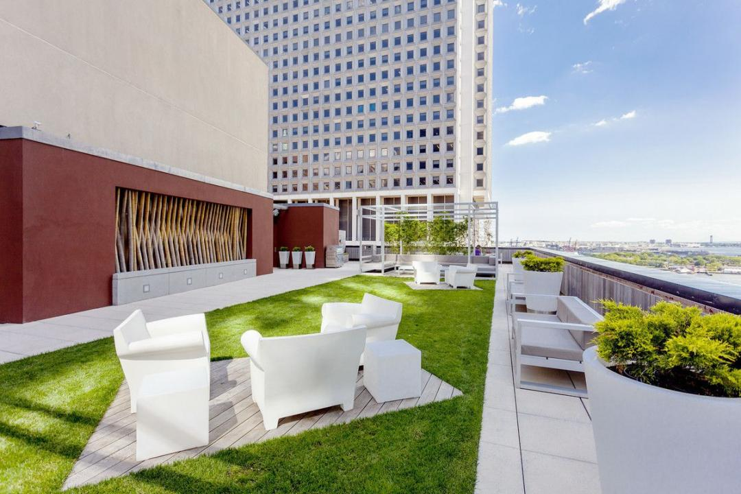 Apartments for rent at 2 Water Street in Financial District - Rooftop Deck