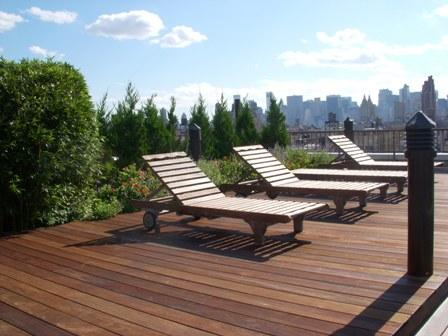 Roofdeck at The Sagamore - Upper West Side apartment rentals