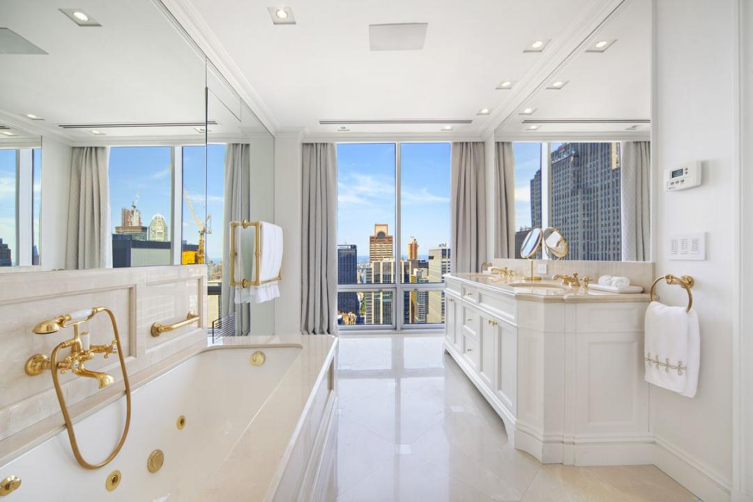 Bathroom of rental apartments at 641 Fifth Avenue