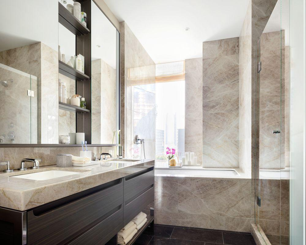 Rentals at One Hudson Yards in Chelsea - Bathroom