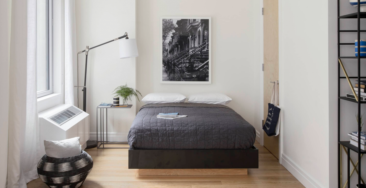 Bedroom at One Hudson Yards in Chelsea - Aparments for rent