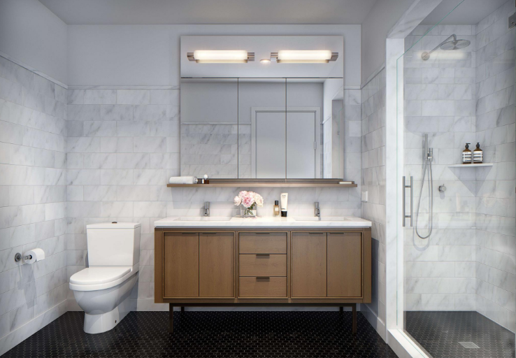 Rentals at The Oriana in Midtown East - Bathroom