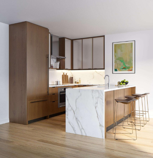 Open Kitchen at 420 East 54th Street in Sutton Place