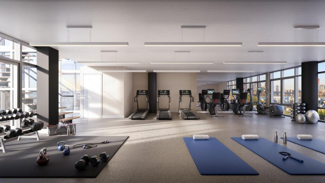 Apartments for rent at 211 McGuiness Blvd in Brooklyn - Fitness Center