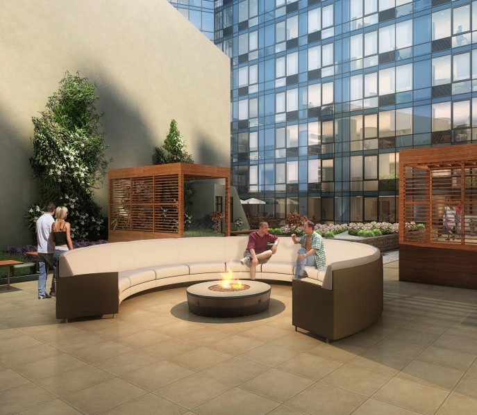 Outdoor Space- 66 Rockwell Place