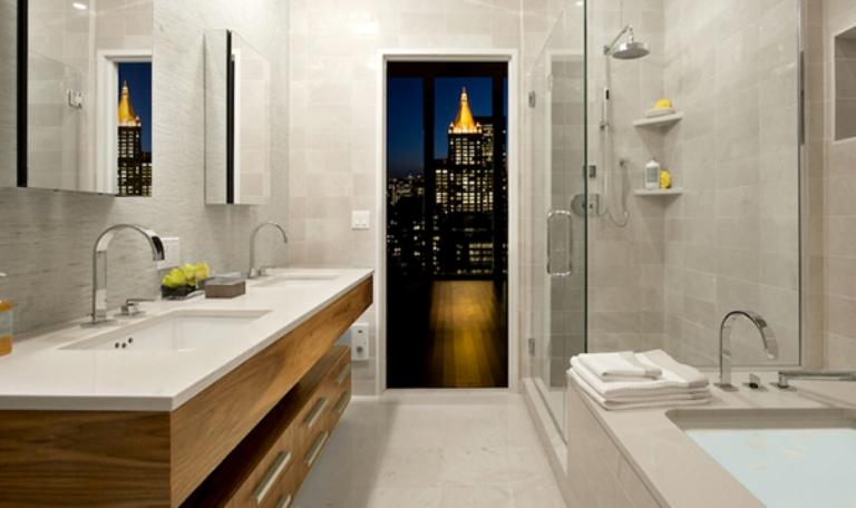39 East 29th Street Manhattan - Penthouse Bathroom at Twenty 9th Park Madison