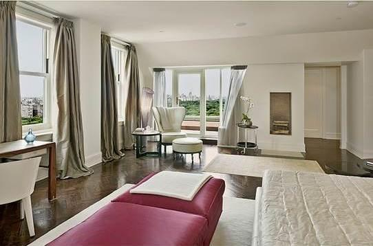 1 Central Park South Manhattan - Penthouse Bedroom at The Plaza Residences