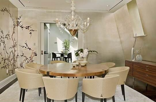 1 Central Park South Condominium Penthouse Dining Area