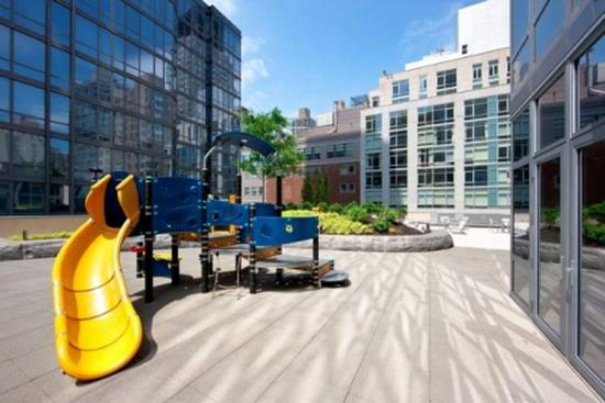 555 West 59th Street New Construction Condominium Playroom