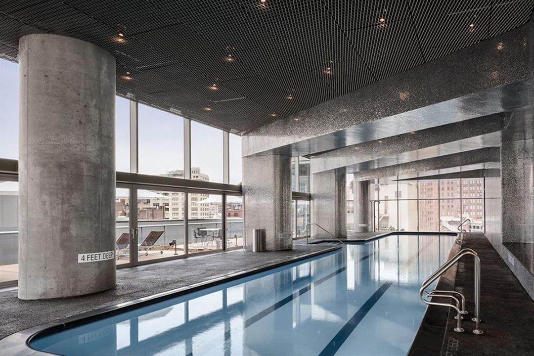 Pool at 56 Leonard Street
