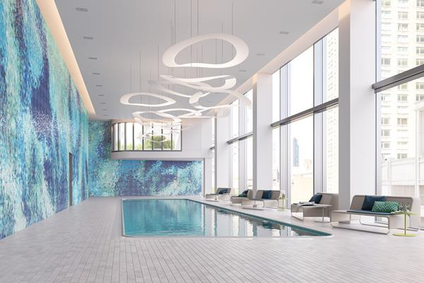 Pool at Aro - 242 West 53rd Street