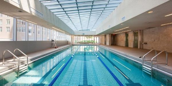Element Condominium Swimming Pool - 555 West 59th Street Condos for Sale