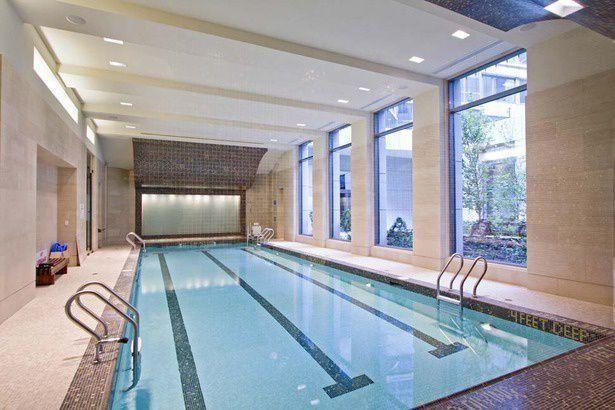 Pool at The Rushmore - 80 Riverside Boulevard