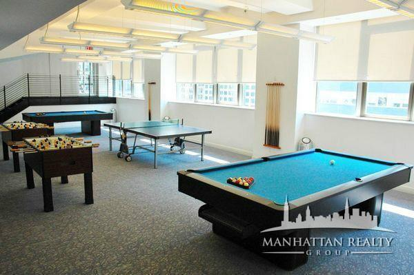 Apartments for rent at 53 Park Place in Manhattan - Game Room