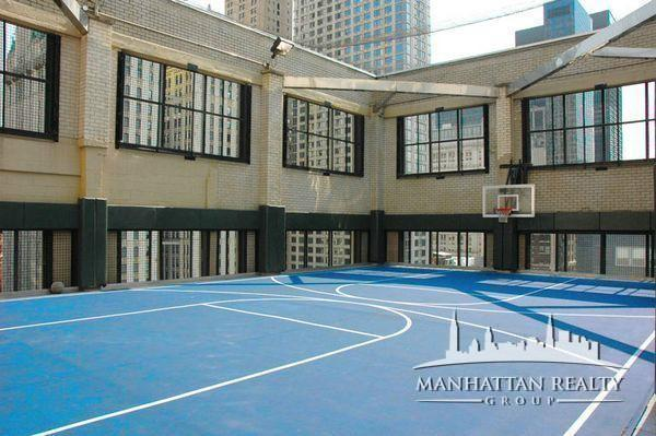 Basketball Court at 53 Park Place in Manhattan