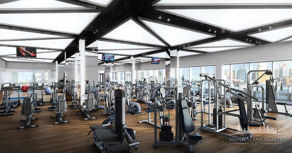 Fitness Center at 53 Park Place in Tribeca
