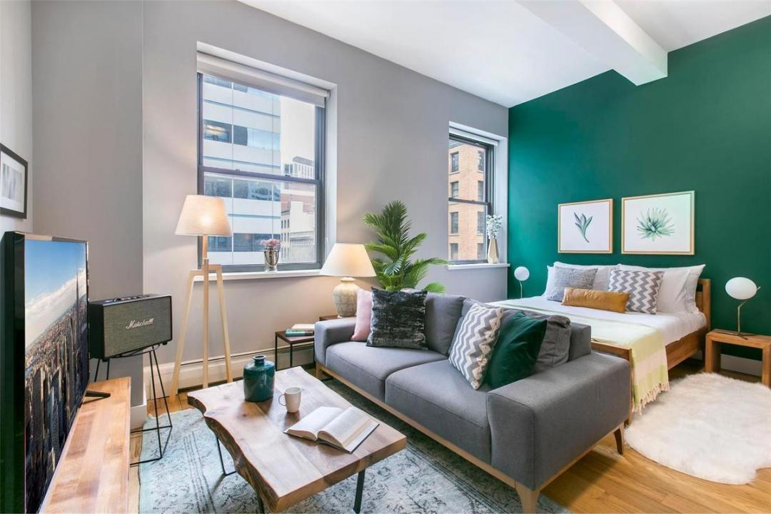 Apartments for rent at 53 Park Place in Tribeca - Living Room