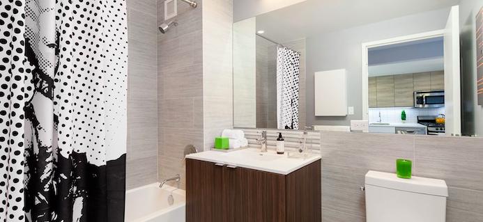 The Bathroom at 41-42 24th Street