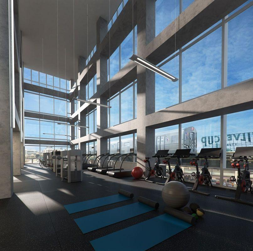 Fitness Center at 42-20 24th Street - 1 QPS Tower