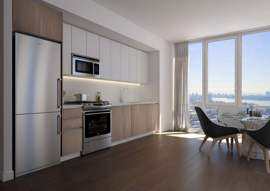 Open Kitchen at 42-20 24th Street in NYC - Apartments for rent