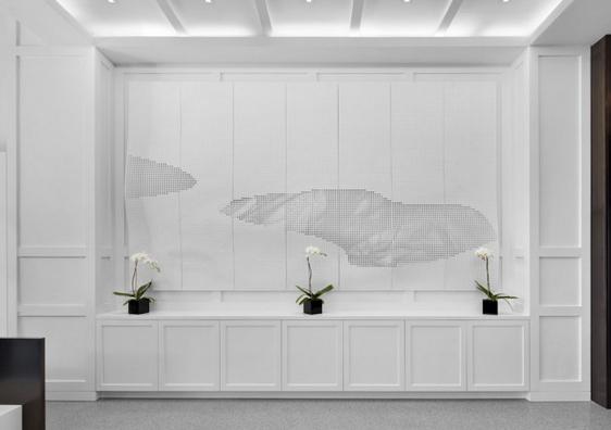 Lobby- Luxury Rentals at Printing House