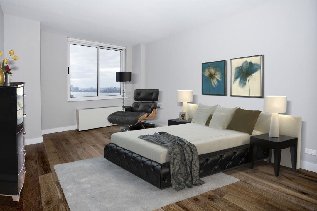 Rental Apartments at 560 West 43rd Street Bedroom