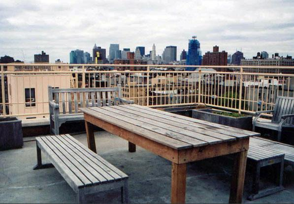 190 East 7th Street Roof Deck Terrace – NYC Rental Apartments