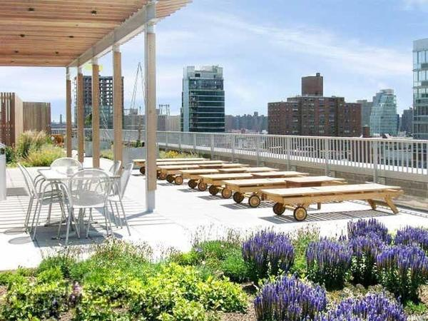 Rooftop Deck - 11 East 1st Street - Greenwich Village - NYC Rentals