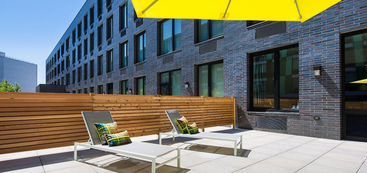 Wide variety of amenities at Atelier Williamsburg - Rooftop Deck