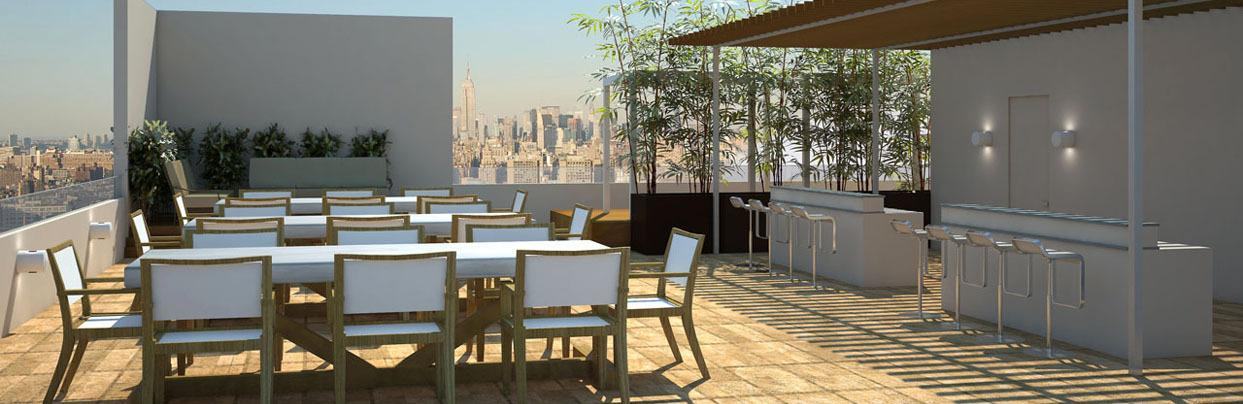 Bloom 62 Rooftop Deck, 62 Avenue B, Greenwich Village