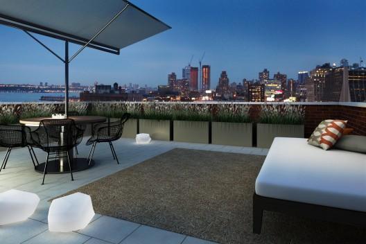 540 West 28th Street Rooftop Cabana - Manhattan New Condos