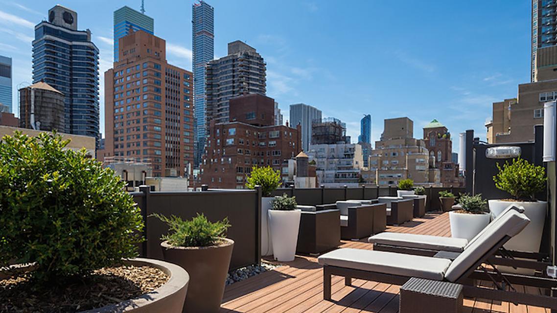 Rooftop Deck at Renoir House - 225 East 63rd Street