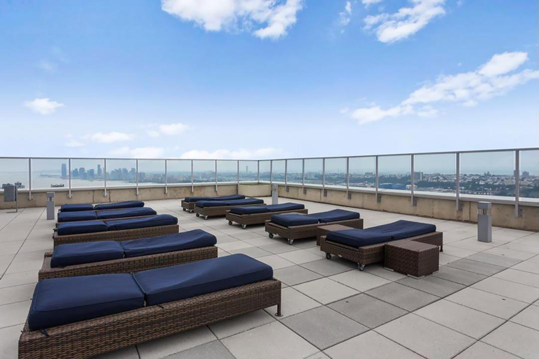 Rooftop Deck at Atelier - 635 West 42nd Street