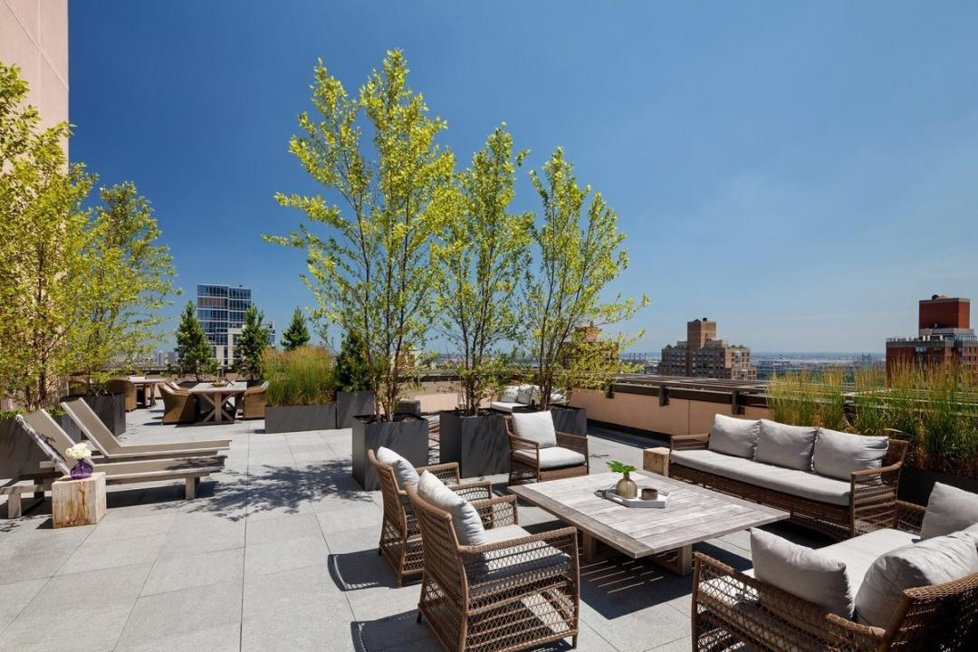 Rooftop Deck at 389 East 89th Street