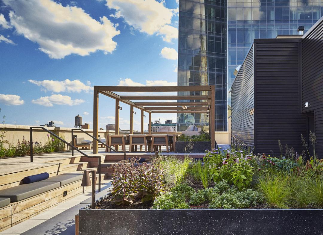 Rooftop Terrace at Huys - 404 Park Avenue South