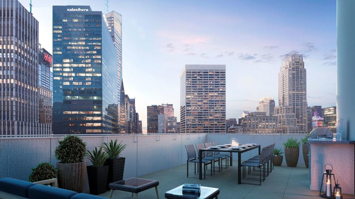 Rooftop Deck at ML House - 1050 Sixth Avenue