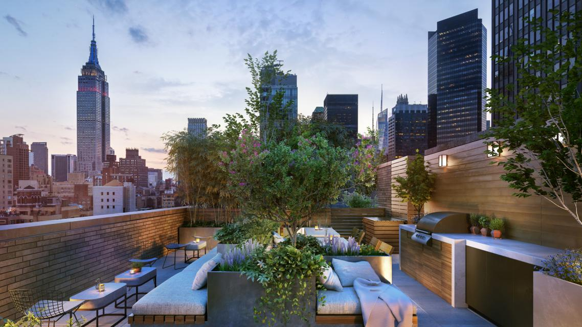Rooftop Terrace at The Lindley - 591 Third Avenue