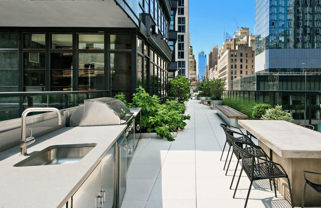 Rooftop Terrace at The Noma - 50 West 30th Street