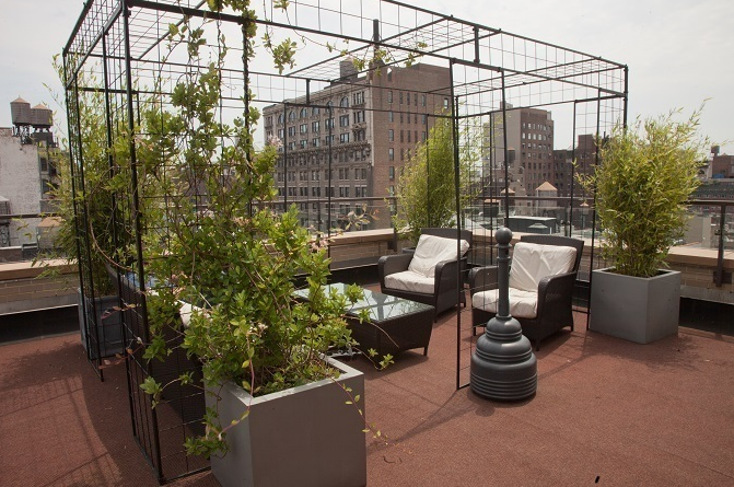 Rooftop View at Flatiron 18 Rentals-Flatiron District NYC