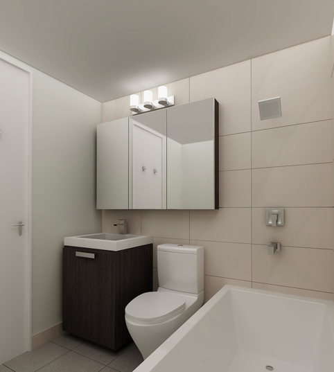 Bathroom - Kips Bay Court - 520 Second Avenue