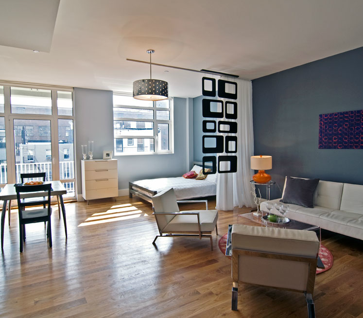 Living Area - 90 North 5th Street - Williamsburg