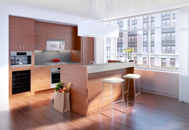 Kitchen - 323 Park Avenue South - Flatiron District
