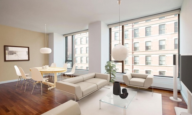 Living and Dining Area - 505 Greenwich Street - Soho