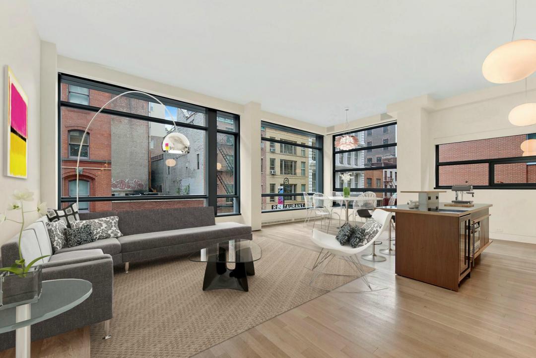 Livingroom - 40 Mercer Street - Soho